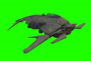 战斗机 飞机 航天飞机 5 绿屏抠像素材 免费下载手机特效图片