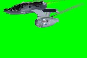 航天飞机 飞船 3 绿屏绿幕特效抠像素材手机特效图片