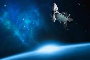 宇宙飞船 航天飞机 绿屏绿幕视频免费下载手机特效图片