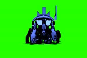 变形金刚  绿屏抠像 特效素材 巧影AE 4