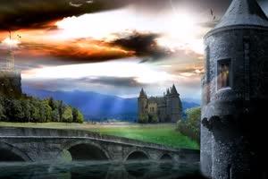 11 唯美风景 古堡手机特效图片