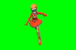 Aliana 神奇宝贝 超清绿屏抠像 特效素材