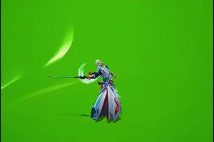 李白老版凤求凰绿幕 王者荣耀绿幕素材 剪映特效手机特效图片