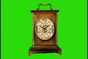 闹钟 时钟 钟表 倒计时 挂钟 时间 绿幕素材 钟表手机特效图片