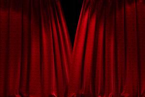 窗帘 幕布打开关闭 开幕式 闭幕式1带通道抠像视手机特效图片