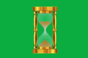 沙漏 闹钟 时钟 钟表 倒计时 挂钟 时间 绿幕素材手机特效图片