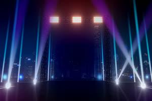 11舞台背景 虚拟演播室 真绿布和绿幕视频抠像素材