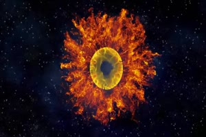 烟雾 粒子 魔法 火焰 6 绿屏抠像特效素材绿幕A