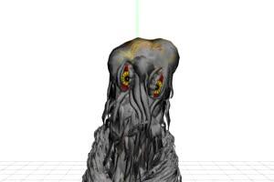 哥斯拉绿幕视频 怪兽恐龙 变异生物 1手机特效图片