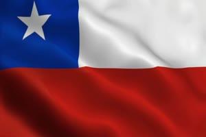 智利 国旗绿幕后期抠像视频特效素材@特效牛免费手机特效图片