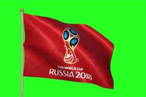 2018 俄罗斯世界杯 旗帜手机特效图片