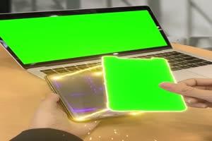 免费 高清 热门宣传手机电脑绿幕视频素材手机特效图片