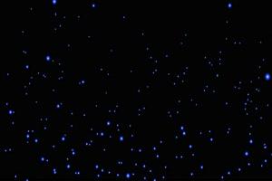 生长的蓝色银光树 树叶花 黑幕背景抠像视频 广手机特效图片