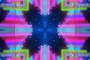 VJ视频 炫彩 LED大屏幕 超清蹦迪视频素材 15手机特效图片
