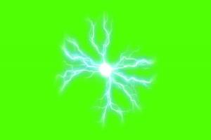 闪电球 电光 激光 1 火影忍者 特效绿屏 抠像素材手机特效图片