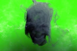 骷髅  绿屏抠像素材 支持