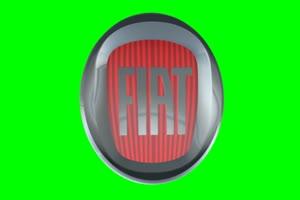 菲亚特 Fiat logo 车标 绿屏抠像 特效素材手机特效图片
