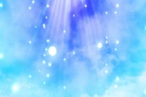 免费唯美蓝色梦幻粒子掉落大气背景led视频手机特效图片