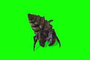 螺蛳怪 特效牛 绿幕素材 抠像视频 后期特效素材手机特效图片