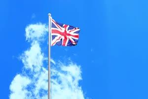 英国2 国旗绿幕后期抠像视频特效素材@特效牛免手机特效图片