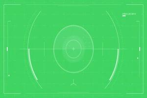 无人机视野 视觉 镜头瞄准 准星 航拍机器人 绿幕手机特效图片