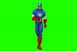 美国队长 7 漫威英雄 复仇者联盟 绿屏抠像 特效