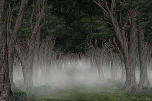 恐怖森林 免费绿幕视频 绿屏抠像视频素材下载手机特效图片