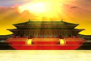 南天门 天宫 天庭 仙境 神仙之地 宫殿手机特效图片