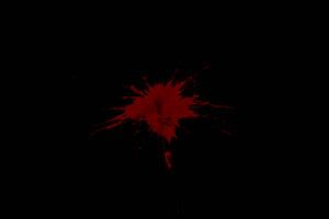 溅血 流血 血迹 枪战 透明绿布和绿幕视频抠像素材