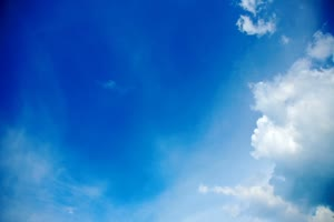蓝天白云 晴空万里 天空素材4手机特效图片