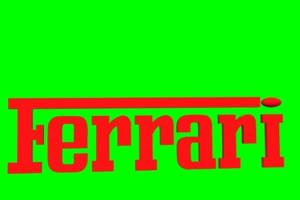 法拉利 ferrari logo 车标 绿屏抠像 特效素材手机特效图片