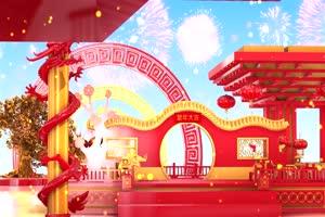 2020春节鼠年片头视频素材