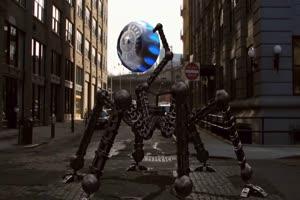 外星人 机器人 1 飞机 绿屏绿幕 抠像素材手机特效图片