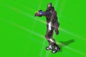 灭霸 跳舞1 复仇者联盟 绿幕素材 绿屏抠像 特效手机特效图片