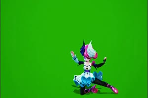 老版小乔天鹅之梦绿幕 小乔天鹅之梦 王者荣耀绿手机特效图片