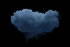 乌云 闪电  特效素材 特性绿布和绿幕视频抠像素材