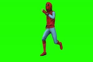 蜘蛛侠 跑 4 漫威英雄 复仇者联盟 绿屏抠像 特效手机特效图片