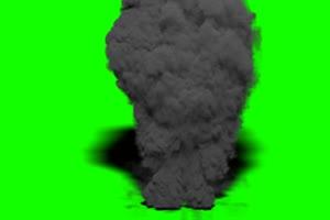 火焰 烟雾 爆炸 绿屏抠像
