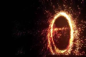 粒子传送门  侧面 魔法传送门 神奇博士 黑幕背景手机特效图片