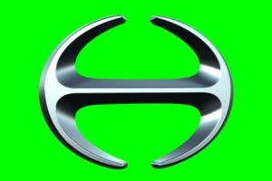 日野 Hino logo 车标 绿屏抠像 特效素材手机特效图片