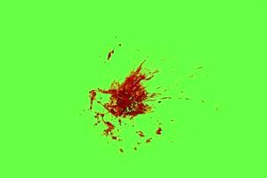 血迹 流血 绿布抠像 特效视频 巧影素材292手机特效图片