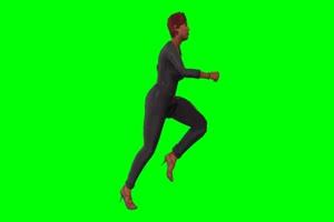 侠盗猎车手 GTA5 人物 走路 特效 绿屏抠像素材