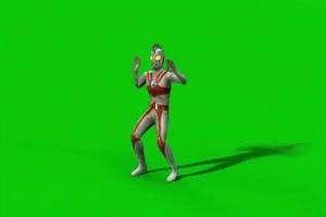 免费奥特曼跳舞 性感跳舞 奥特曼绿幕视频素材下手机特效图片