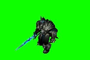 魔兽世界 Lich King 绿屏抠像 绿幕素材 特效抠像素