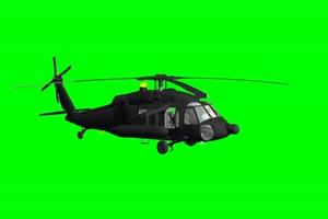 Sikorsky U直升机 3 绿屏绿幕特效抠像素材手机特效图片