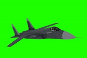 战斗机 飞机 苏47 1 绿屏抠像素材手机特效图片