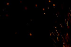4K 真实火焰 火星 余火 火花 视频抠像 特效素材手机特效图片