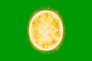 燃烧的太阳 火球 能量球手机特效图片