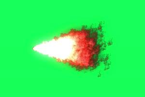 龙卷风6 武侠特效 古风绿绿布和绿幕视频抠像素材