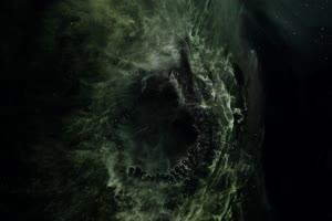 高维度宇宙抽象背景视频10 Hole Closing手机特效图片